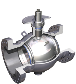 Cameron T31 Fully Welded Ball Valve