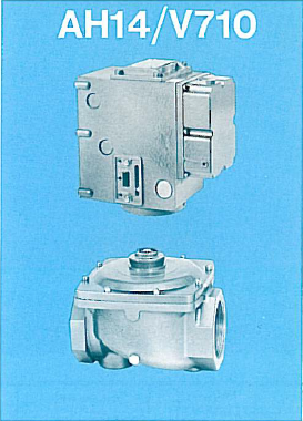 General Controls Hydramotor Gas Valve AH14 / V710